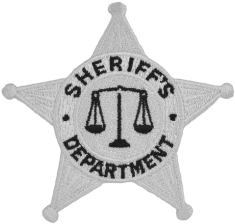 Tactical 365® Operation First Response 5 Point Star Sheriff Duty Emblem Patch