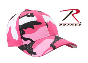 9180 Rothco Pink Camo Supreme Low Profile Cap