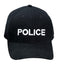 9283 Rothco Black w/White Police Supreme Low Profile Insignia Cap