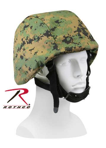9354 Rothco G.I. Type Woodland Digital Camo Helmet Cover