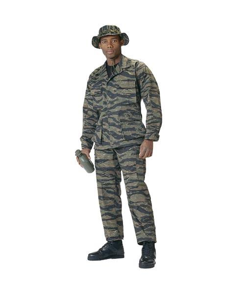 8995 Rothco Camo Tactical BDU Pants - Tiger Stripe Camo - Long Lengths