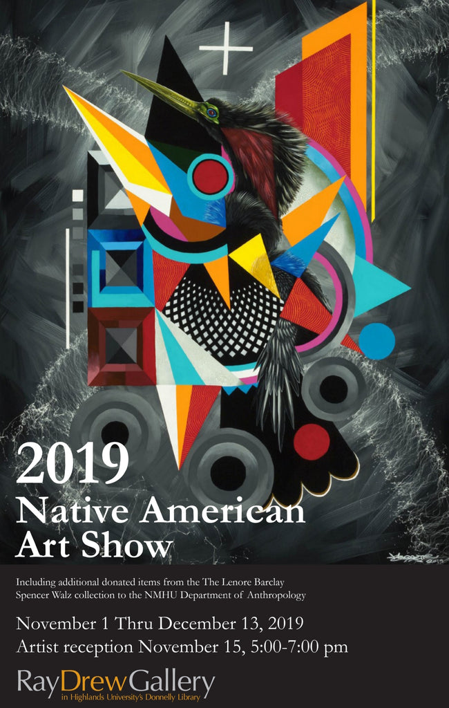 Check out Highlands University Native American Art Show.