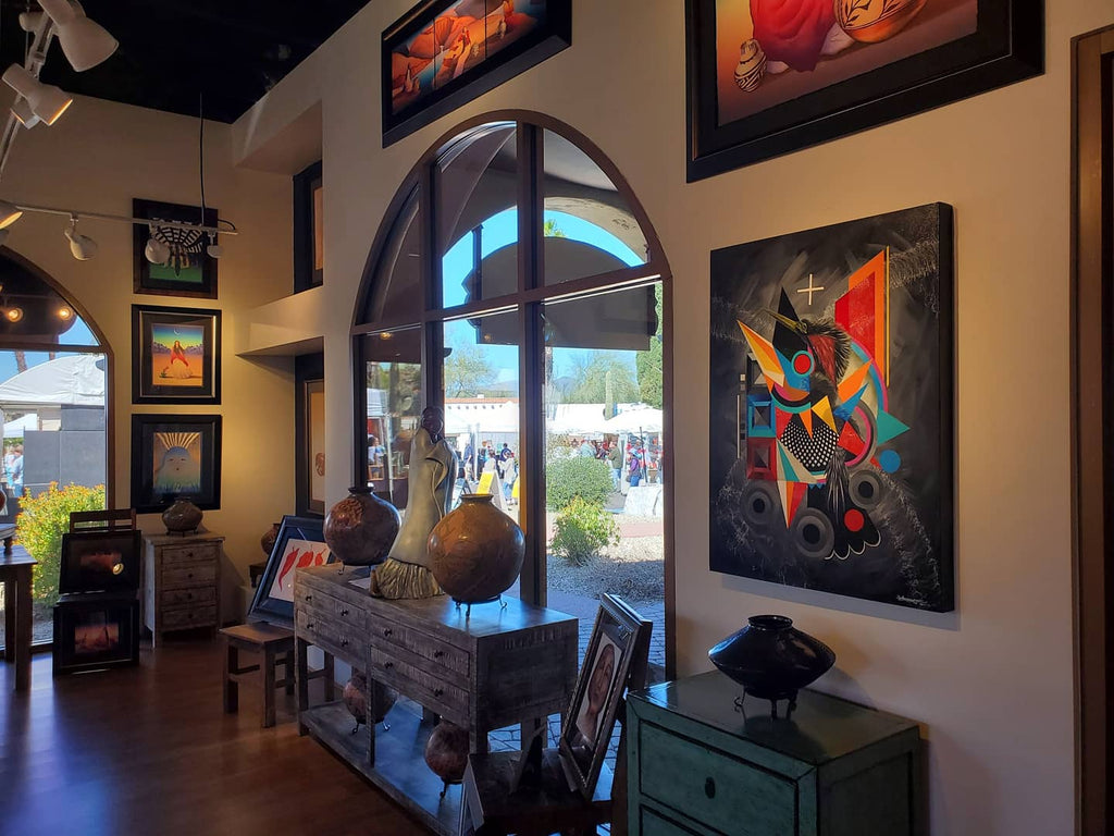 Originals works now available at Studio West/ RC Gorman gallery in Carefree, AZ!! Call to schedule an appointment.