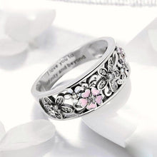 Load image into Gallery viewer, 925 Sterling Silver Daisy Flower Ring