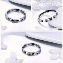 Load image into Gallery viewer, 925 Sterling Silver Dog Footprints Ring