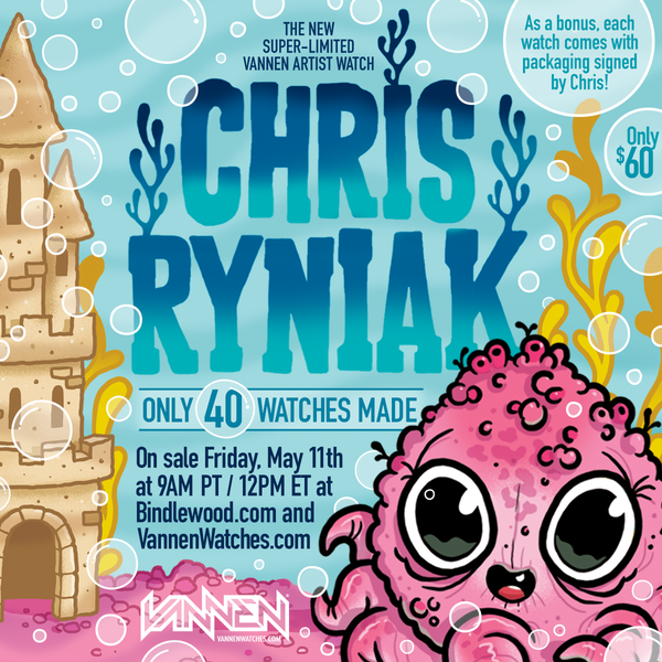 Chris Ryniak Octopup Vannen Watches