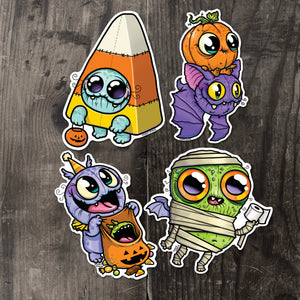 Chris Ryniak Halloween Sticker Collection #1