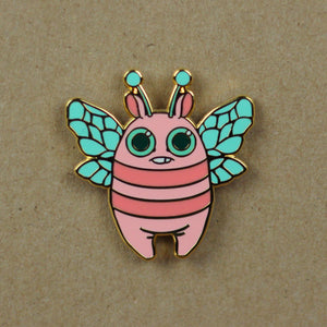 Dreamy Pastel Bee Pin