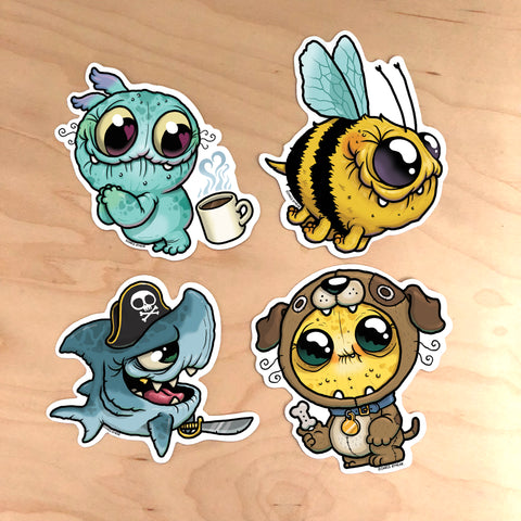 Chris Ryniak Sticker Collection #6