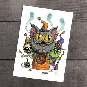 """Treat Party"" Print"