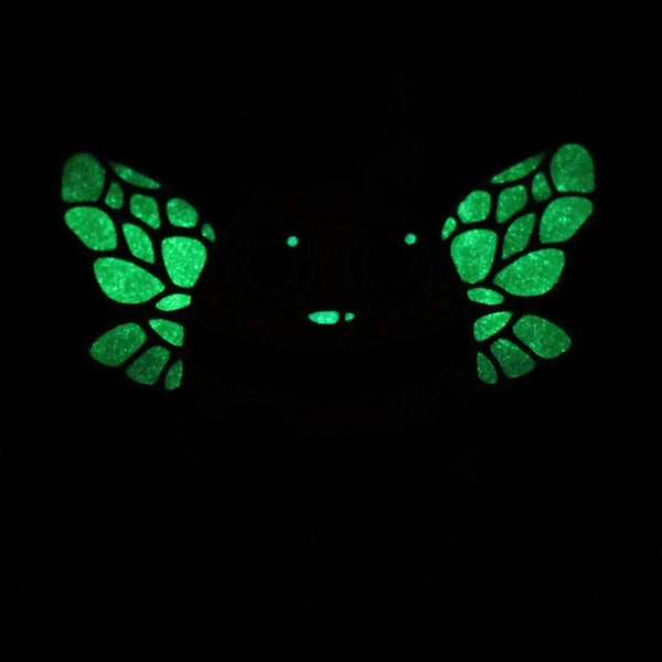 Halloween Bee Pin (Glow in the dark!)