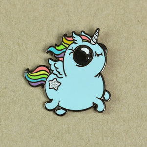Rainbow Ponycorn Pin