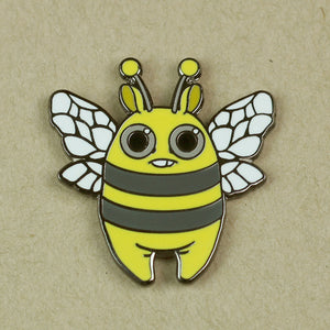 Lemon Bee Pin
