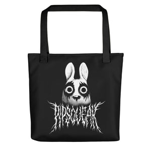 Black Metal Pipsqueak Tote