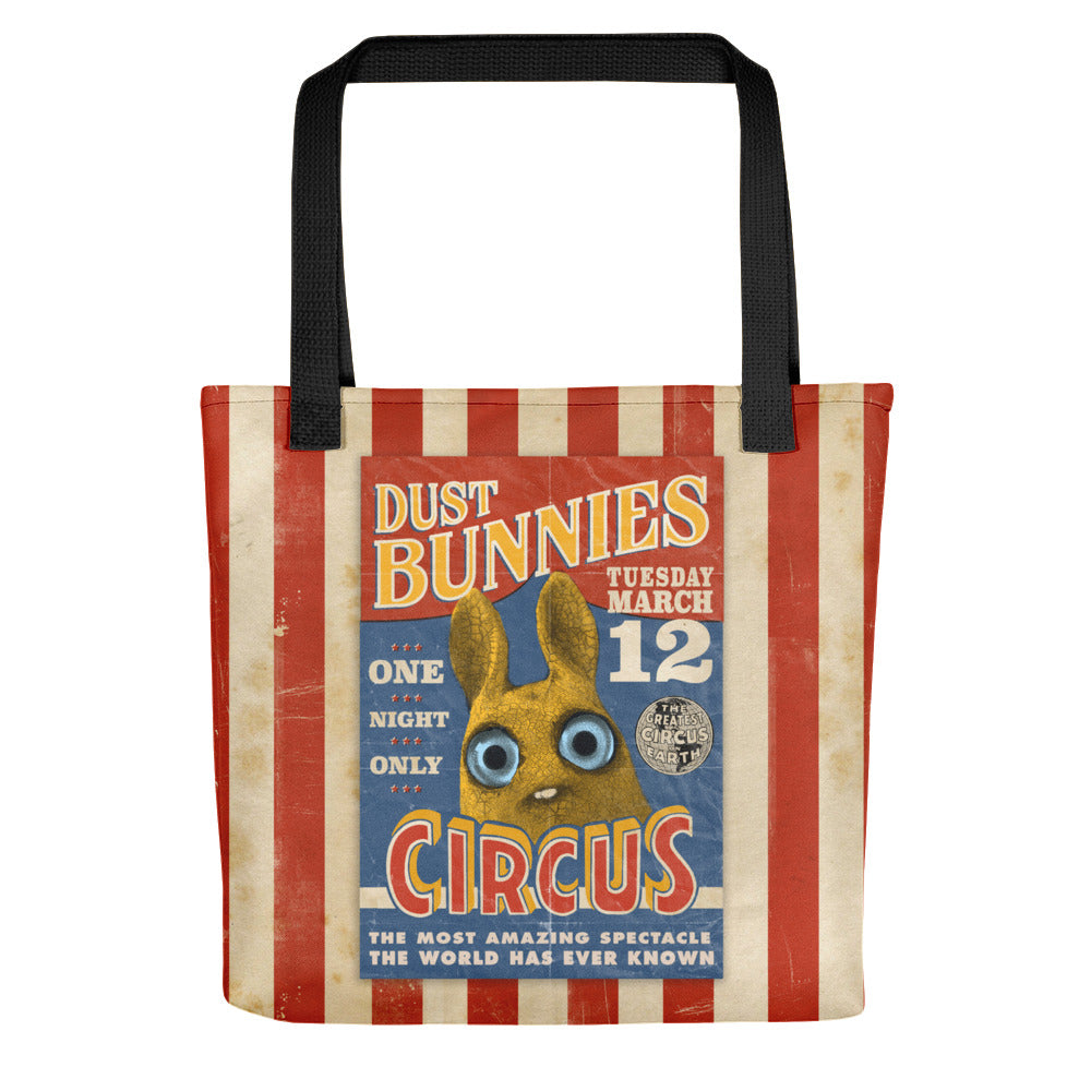 Dust Bunnies Circus Tote