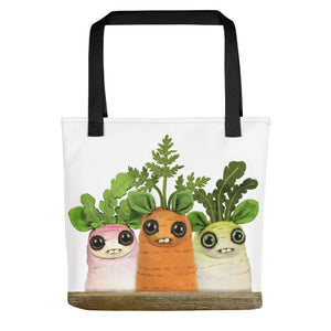 Farmer's Market Dust Bunnies Tote