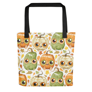 Pumpkin Kids Tote Bag