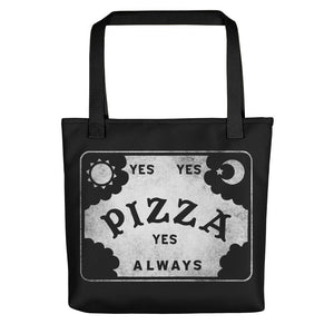 Pizza Conjuring Board Tote
