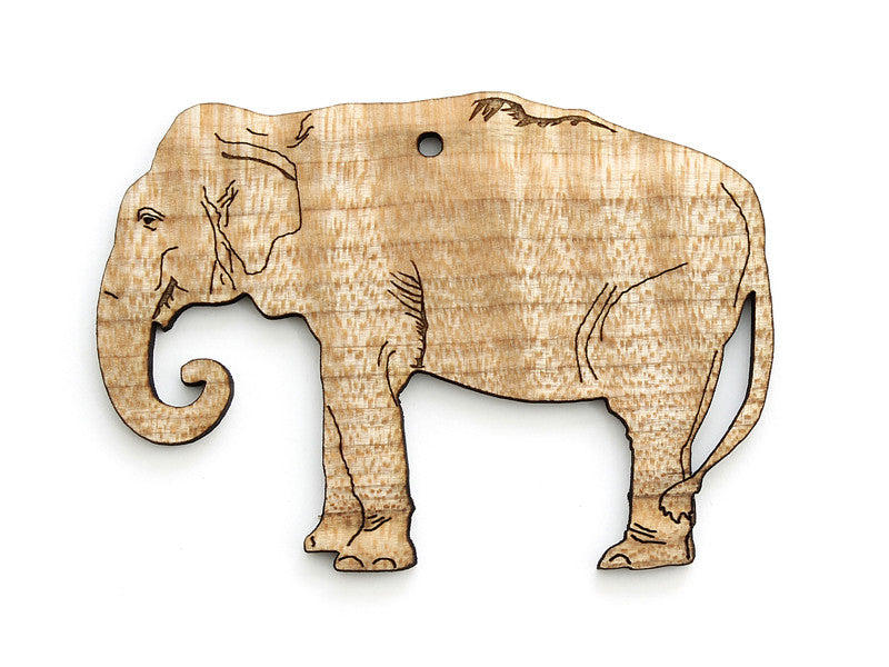 Asian Elephant Ornament