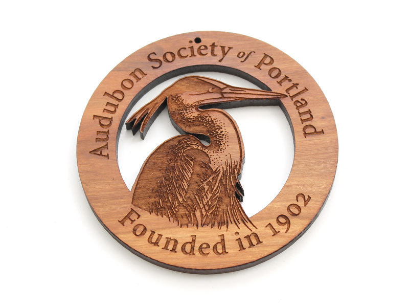 Audubon Society of Portland Custom Ornament