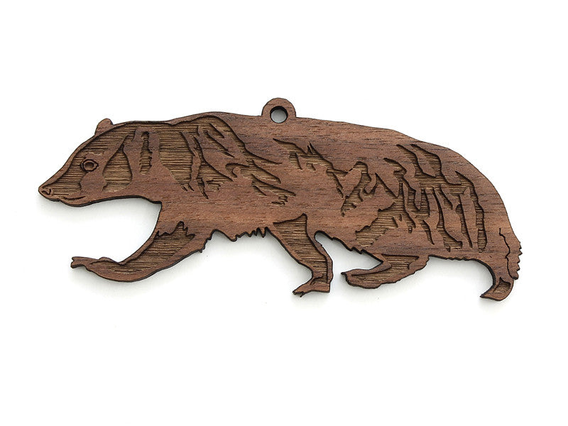 American Badger Ornament