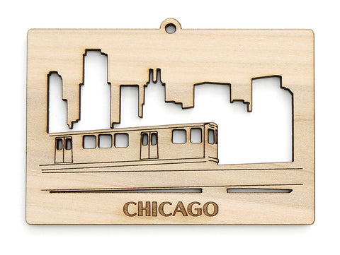 "Chicago ""L"" Ornament"
