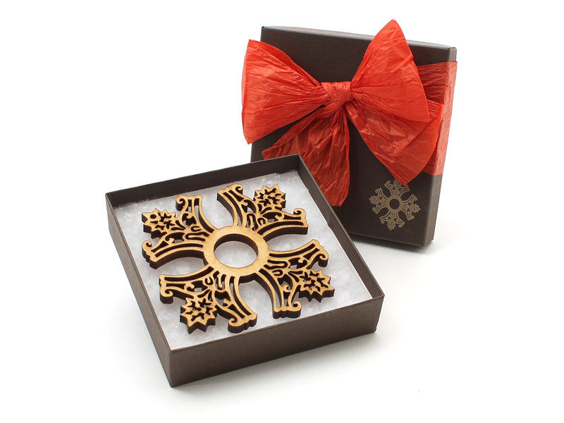 Christmas Cross Ornament Gift Box