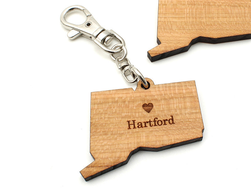 Connecticut State Key Clip