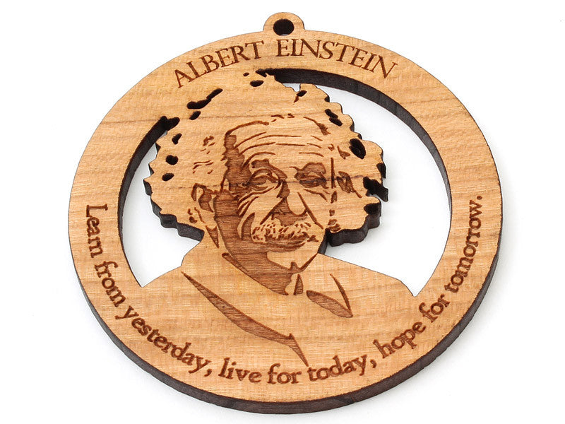 Albert Einstein Ornament