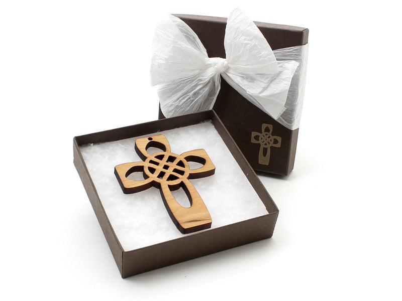 Four Apostles Cross Ornament Gift Box