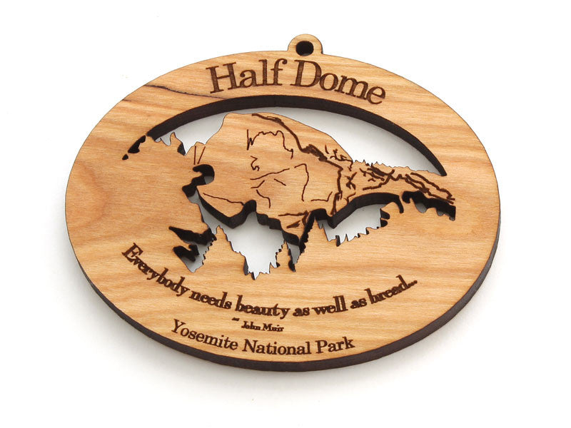 Half Dome Yosemite National Park Custom Ornament