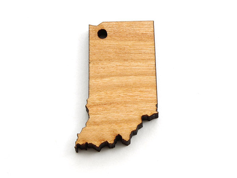 Indiana State Ornament