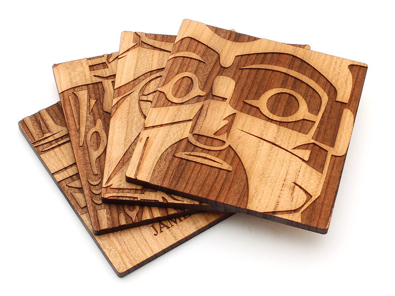 Pacific Northwest Totem Pole - Coasters