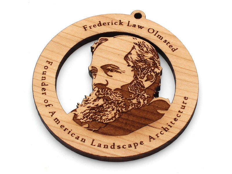 Frederick Law Olmstead Ornament