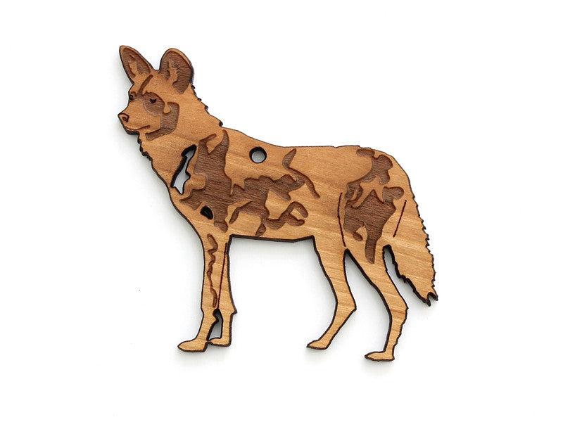 Painted Dog Ornament