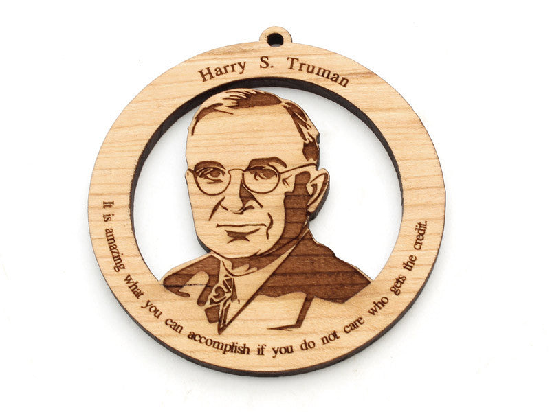 Harry S. Truman Ornament