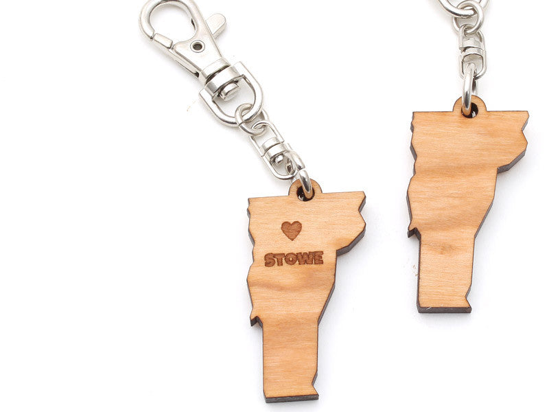 Vermont State Key Clip