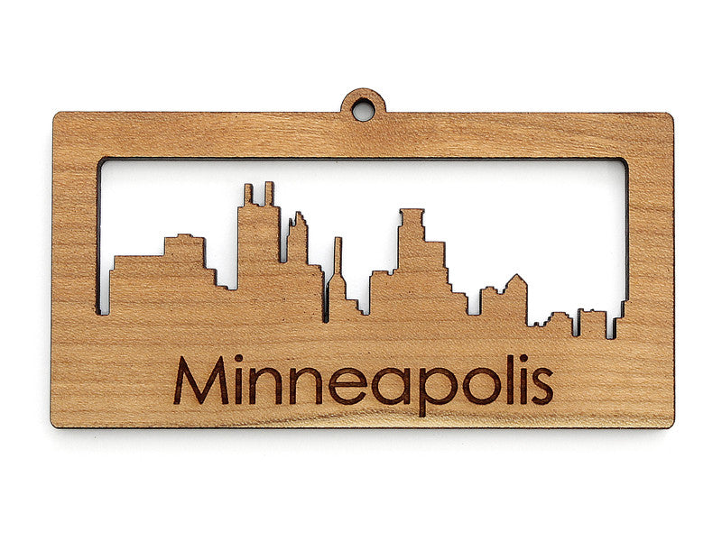 Minneapolis Skyline Cityscape Ornament