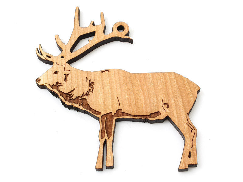Elk Ornament