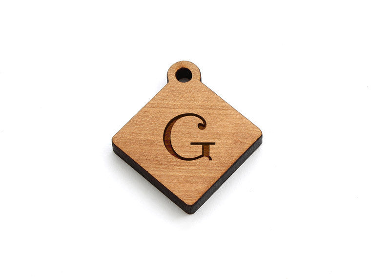 Monogram Diamond Charm - Letter G