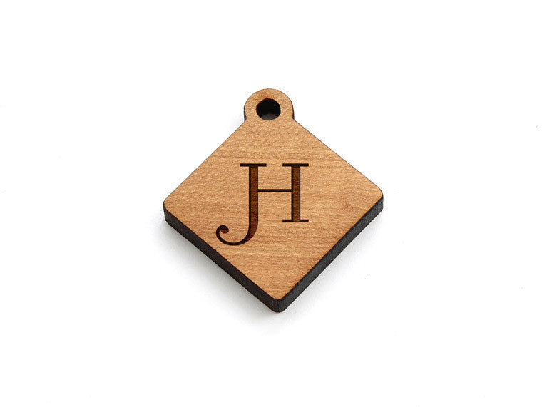 Monogram Diamond Charm - Letter H