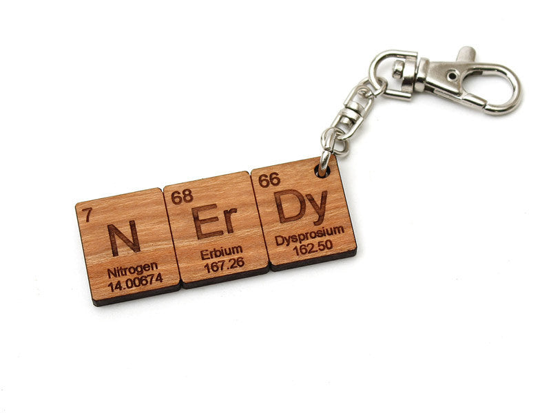 Nerdy Element Key Chain