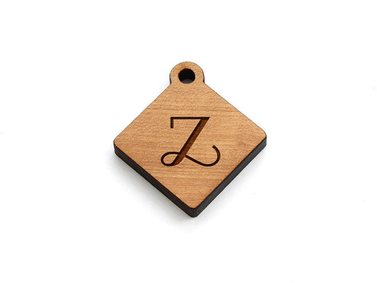 Monogram Diamond Charm - Letter Z
