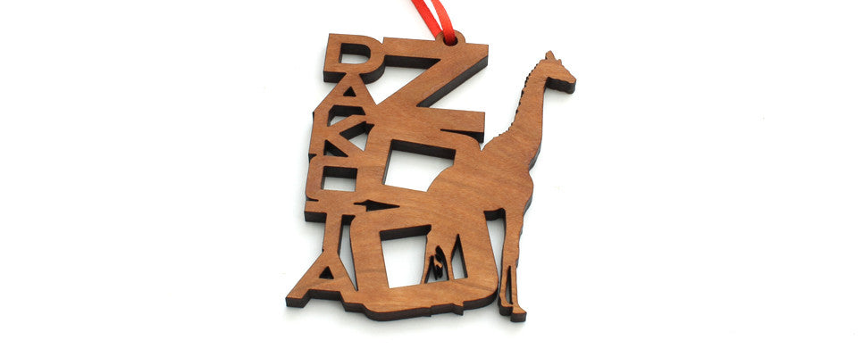 Dakota Zoo Ornament