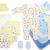 Newborn Baby Boy 21 Pc Layette Baby Shower Gift