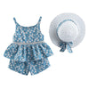 Summer Toddler Kids Baby Girls Clothes Floral