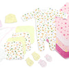 Newborn Baby Girls 15 Pc Layette Baby Shower Gift