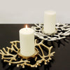 Twig Collection Metal Pillar Candle Holder