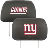 NFL 2-PC CAR HEADREST COVER SET