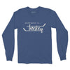 Men's Hockey Long Sleeve T, Blue